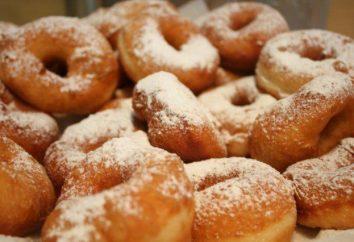 Donuts avec du lait: les options de cuisson. Recette de beignets à la saumure