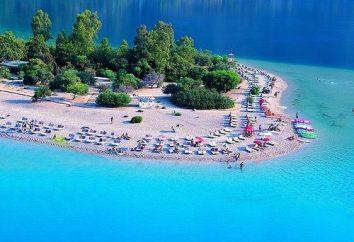 Spiagge di sabbia in Turchia. I più importanti luoghi
