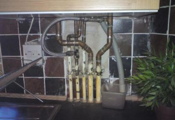 Tubo de gas en la cocina: ¿cómo esconderse? Fotos, ideas