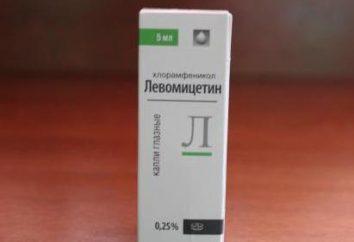 Levomitsitinovye spada w przewodniku nosa i opinie