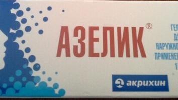"""Lek """"Azelik"""" (żel). Opinie. instrukcja"""