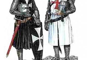 Os primeiros cavaleiros da Europa e do brilhante história da classe