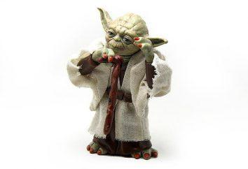 """Postać z filmu """"Star Wars"""" Yoda. Zwroty, cytaty,"""