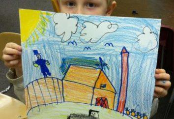 Zeichnung in der älteren Gruppe. Zeichnung im Kindergarten