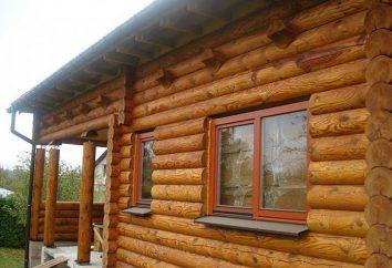 casas de férias de madeira: projetos e construção