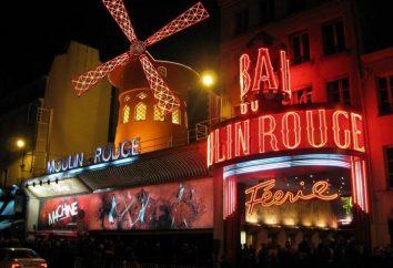 """Moulin Rouge"" w Paryżu. Kabaret ""Moulin Rouge"""