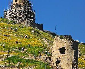 Cembalo Fortress (Crimée): description, photos, histoire