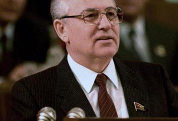 Das neue politische Denken – das ist die Philosophie der Außenpolitik der Sowjetunion während der Perestroika. Gorbatschow Mihail Sergejewitsch