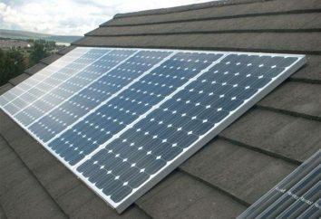 kit solare per un interrogatorio. Installazione di pannelli solari