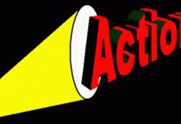 Qual é a ação? O significado ea origem da palavra