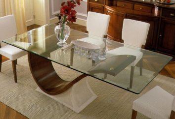 Quanto è pratico il tavolo da pranzo in vetro?