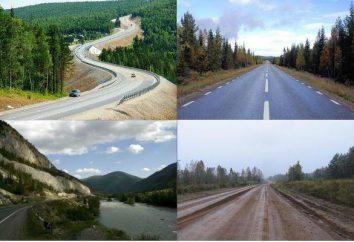 La classificazione delle strade. L'elenco delle strade federali in Russia