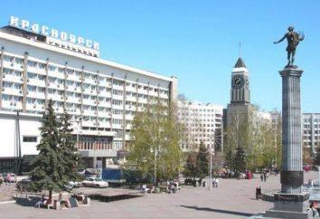 Krasnoyarsk lista hotéis, endereços, comentários