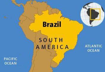 Brésil: les ressources naturelles. Minéraux et de l'Industrie Brésil