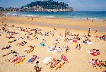 Buone spiagge della Spagna. Spiagge bianche. Spagna – spiagge di sabbia bianca