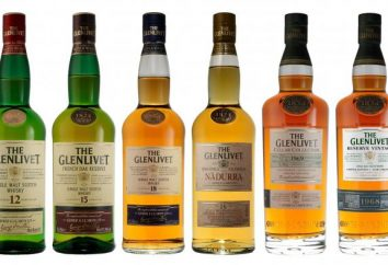 Whiskey Glenlivet: ceny, opis, recenzje