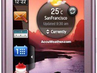 Samsung 5230: Especificaciones, fotos y comentarios. Cómo parpadear Samsung 5230?