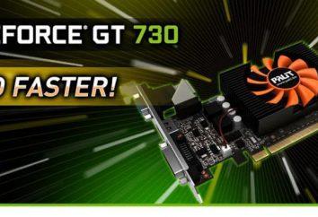 Karta graficzna Nvidia GeForce GT-730: specyfikacje, podkręcanie, recenzje