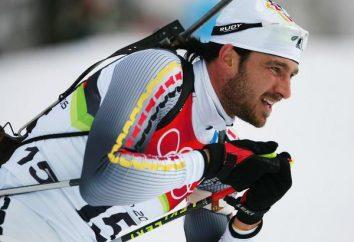 biathlete alemão Aleksandr Volf. Carreira conquistas estrelas