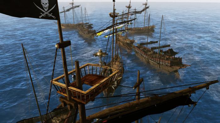 Versunkene Schiffe