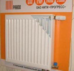 Prado (radiador): comentários, especificações, fabricante, conexão