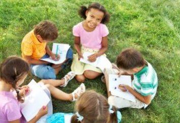 Quiz für Kinder im Lager: Rest mit dem Körper und Geist