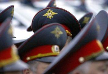 O que agora tem o título de polícia da Rússia