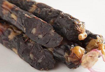 Salsicha feita a partir de carne de cavalo. Kazy – Kazakh salsicha de carne de cavalo (receita)
