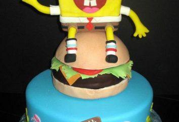 """""""SpongeBob"""" – ein Kuchen für einen Jungen mit den Händen"""