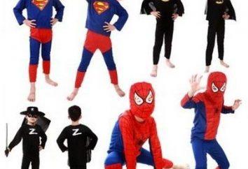 Como fazer uma fantasia de carnaval para crianças com suas próprias mãos. Fantasias de carnaval e Halloween para crianças