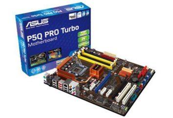 Płyta główna Asus P5Q PRO Turbo: Przegląd, cechy i recenzje