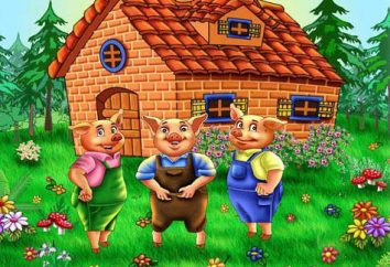 « Trois petits cochons »: l'auteur. « Trois petits cochons », le conte de fées anglais