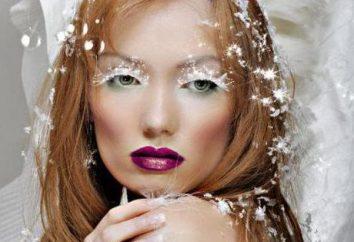 """Maquiagem """"The Snow Queen"""": Descrição da tecnologia de imagem"""