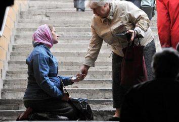Biedni ludzie: definicja, przychody, prawa i przywileje