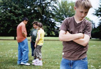 El niño tiene miedo de los niños – si no es autista?