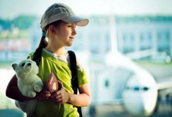 Informazioni per i turisti: come fare un passaporto bambino