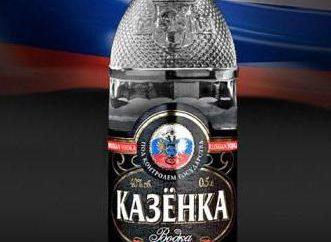 """Vodka """"kasenka"""" – il nuovo leader di bevande alcoliche in Russia"""