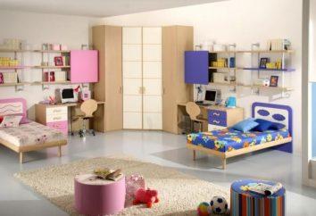 Chambre d'enfant pour une fille et un garçon – il est juste