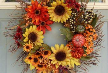 Come fare una corona d'autunno con le sue mani?