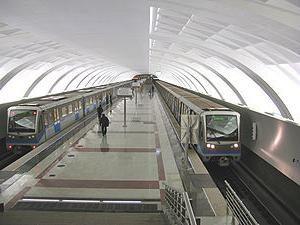 """Metro """"Mitino"""" – la stazione che amo"""