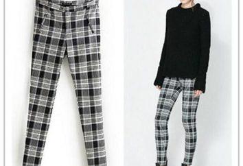 Co do noszenia ze spodniami w klatce: stylowe obrazy