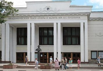 Niżny Nowogród Teatr Opery i Baletu: teatr repertuar, firma, adres,