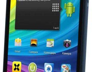 Smartphone Coral Fly IQ4412 Quad: uma visão geral, as especificações e comentários