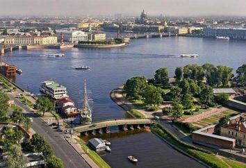Localização geográfica favorável de São Petersburgo