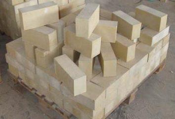 résistant à l'acide de la brique: Caractéristiques