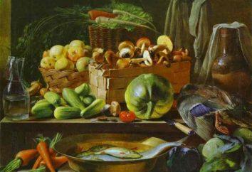 """Opis Khrutsky malowanie """"Kwiaty i owoce"""" i inne dzieła artysty"""