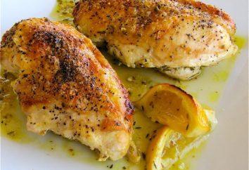 Al horno de pechuga de pollo de jamón: algunas recetas sencillas y rápidas