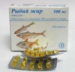 Ryby kapsułki oleju: wykorzystanie ratingów