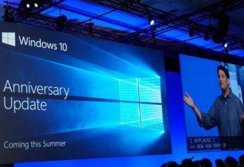 System Windows 10, Rocznica Aktualizacja: Jak zaktualizować, krok po kroku instrukcje i zalecenia