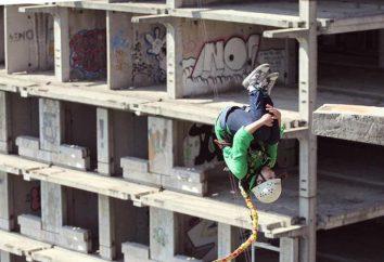 Bungee jump de Moscou (roupdzhamping): comentários